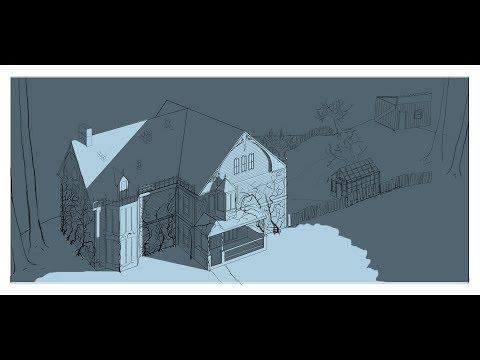 Wayholm Concept Art Livestream. [Mansion 3:4 Birds Eye] #1