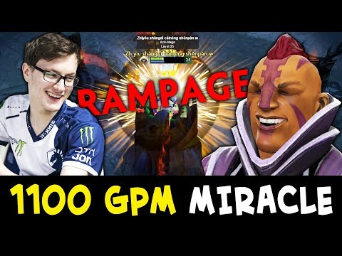 Miracle 1100 GPM Anti-Mage — RAMPAGE ez Zeus counter