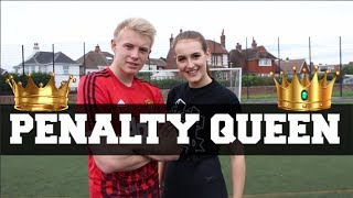 One of Charlotte Allcorn's most viewed videos: PENALTY QUEEN VS CHARLIE MORLEY