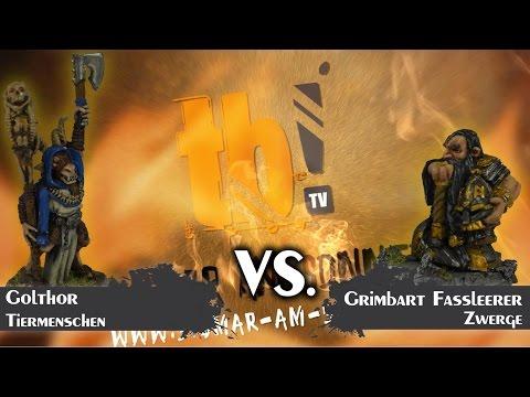 Age of Sigmar - Sigmar am Sonntag - Tiermenschen vs. Zwerge [Staffel II.1]