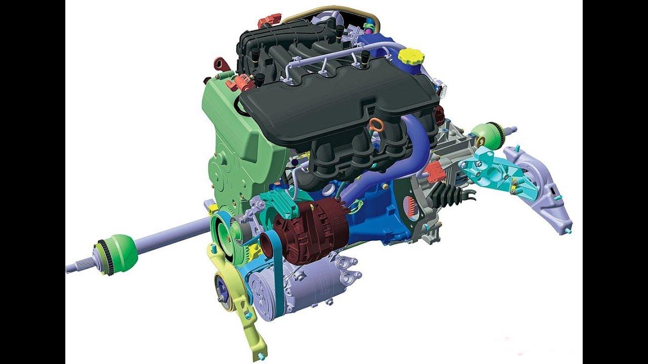 Обновленный двигатель от ВАЗ, 21127 (106 л.с)