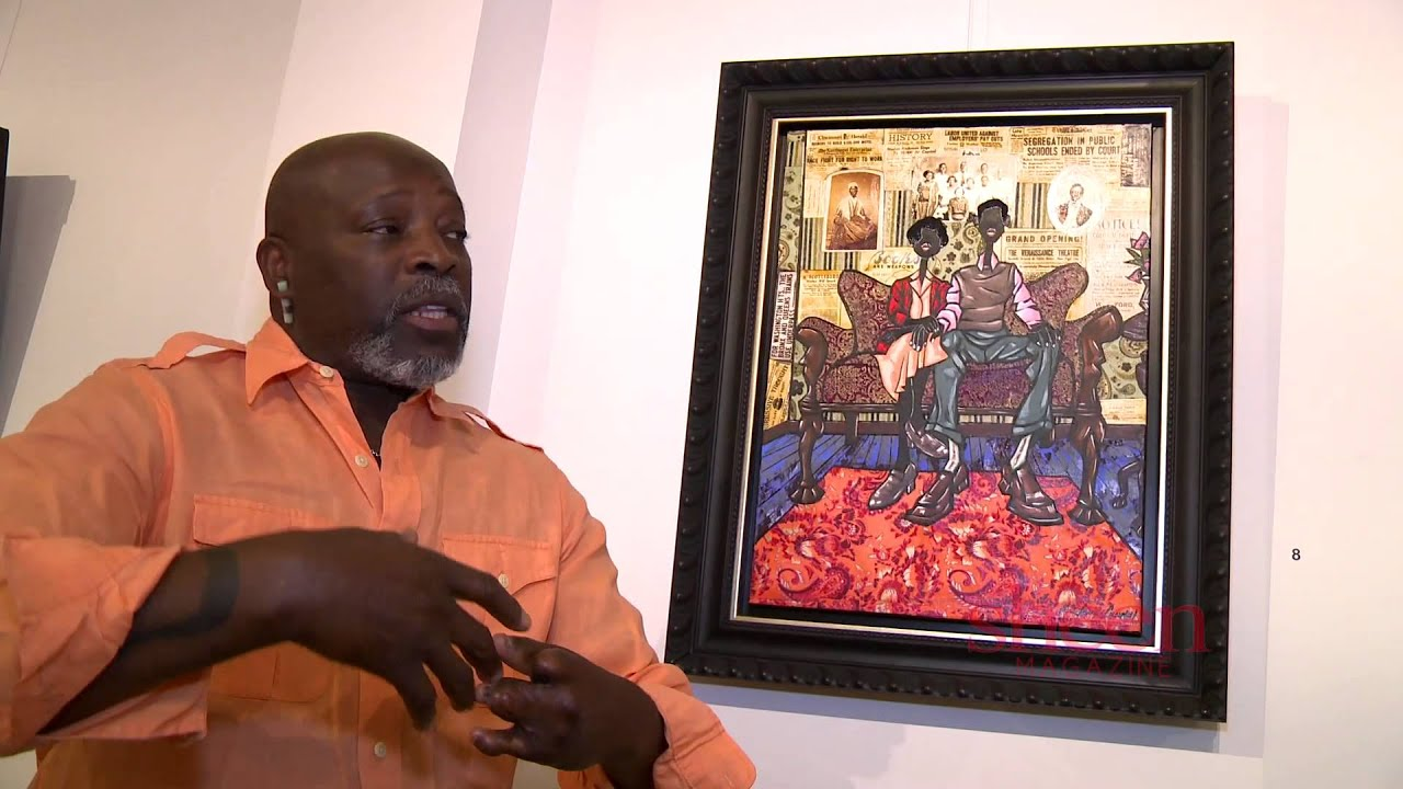 Sheen Magazine Interviews Visual Artist Leroy Campbell