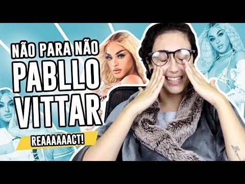 REACT: Álbum Não Para Não de Pabllo Vittar - Luma Show