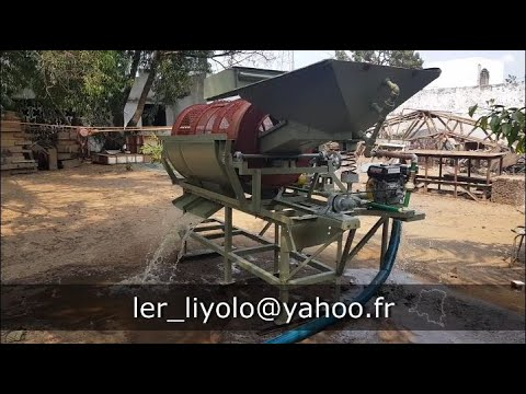 Trommel Wash Plant For Gold, Diamond And Placer Mining Made In DRC