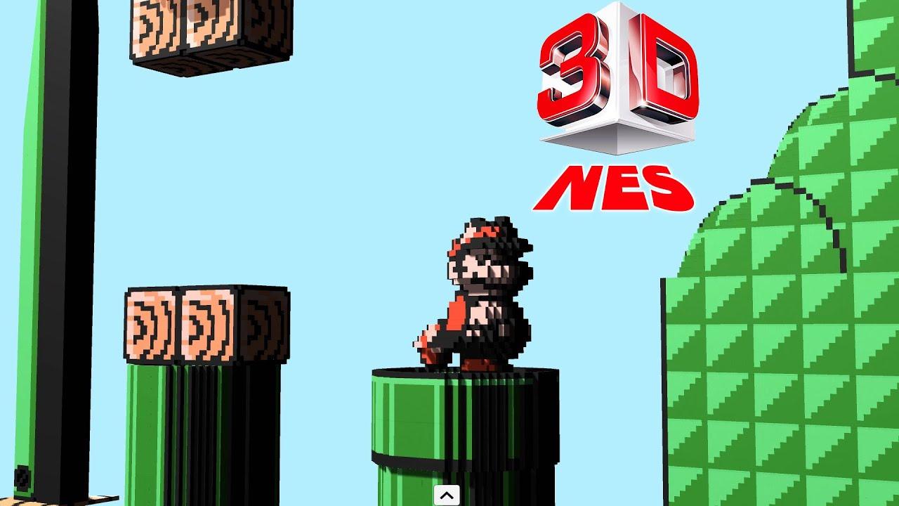 3dnes Emulator 1 0 Super Mario Bros 3 1080p Hd 60 Fps