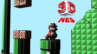 3DNes Emulator 1.0 | Super Mario Bros. 3 [1080p HD / 60 FPS] | Nintendo NES