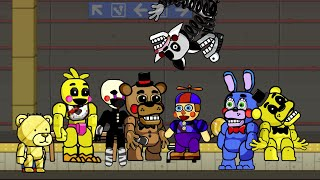 scribblenauts unlimited 86 five nights at freddy s 2 animatronics in object editor