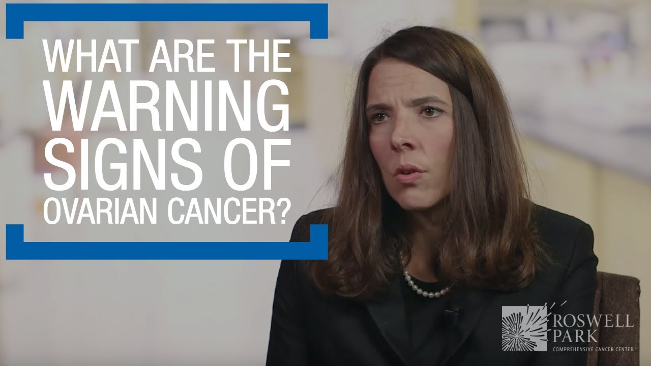 What Are The Warning Signs Of Ovarian Cancer Youtube