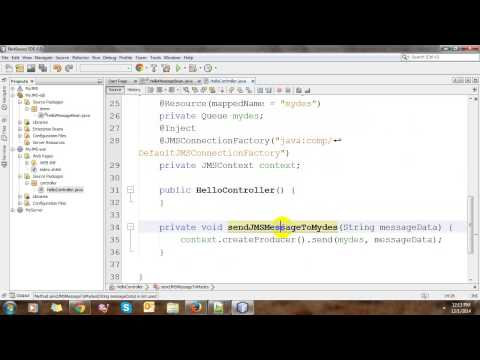 JMS With NetBeans And Glassfish