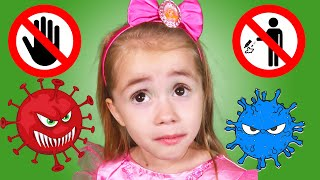 Learn Rules of Conduct for Kids |  Wash your Hand by Chu Chu Ua TV