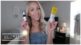 100% VEGAN & CRUELTY-FREE GLOWING SKINCARE ROUTINE | The Ordinary, ACURE, Ole Henriksen, e.l.f.