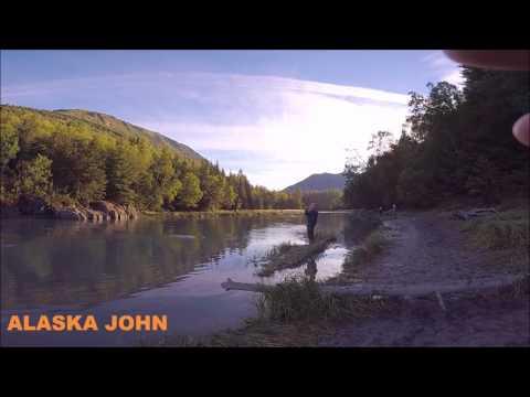 BIRD CREEK SALMON FISHING - Alaska