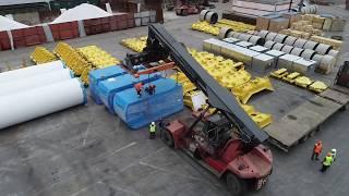 Ветроэнергетические установки во Владивостокском морском торговом порту