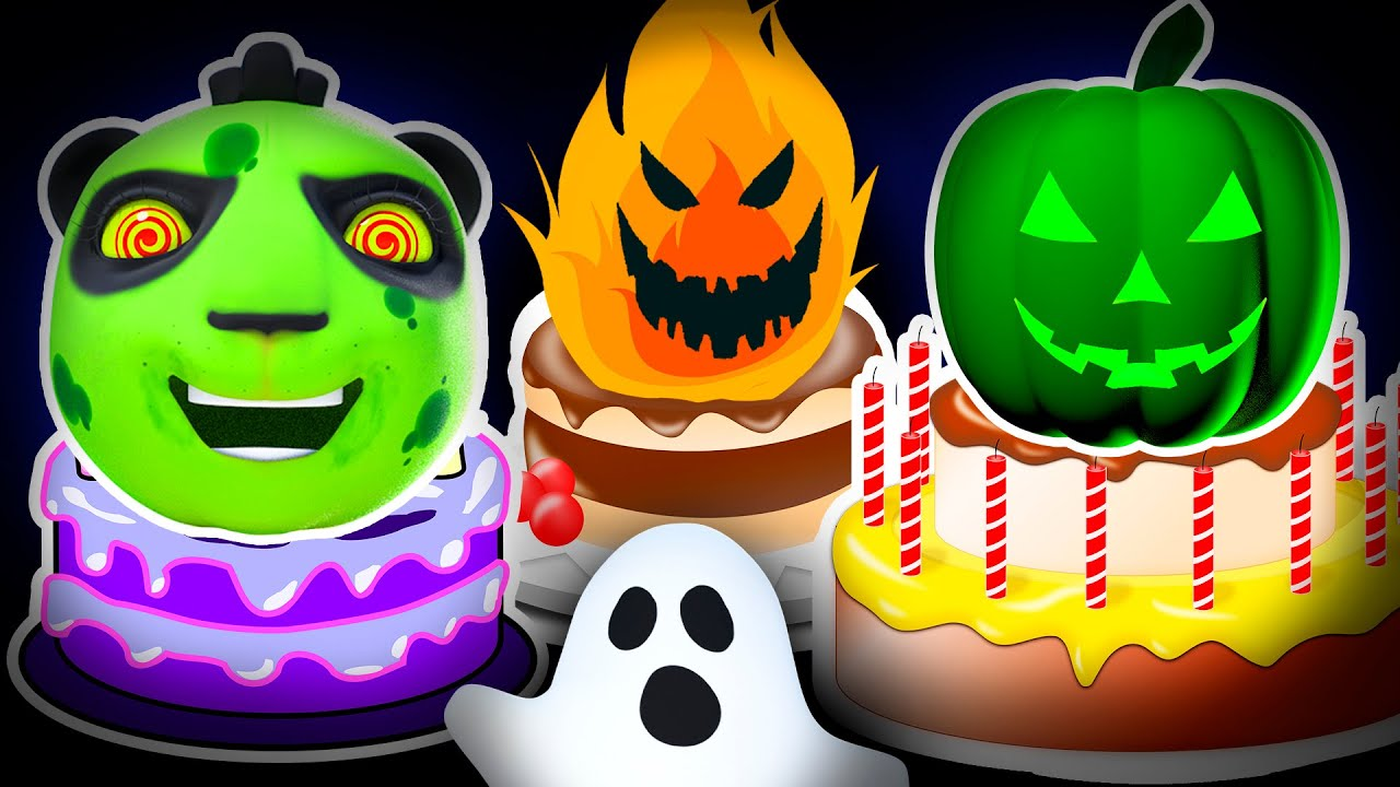 👻Halloween Happy Birthday Song! Trick or Treat: Knock Knock, Who's at the Door? Good Habits for Kids