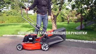 видео Газонокосилка самоходная Husqvarna LB 553S e