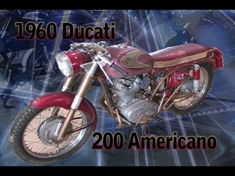 Clymer Manuals 1960 Ducati 200 cc Americano Antique Vintage Retro Restored Unrestored Video