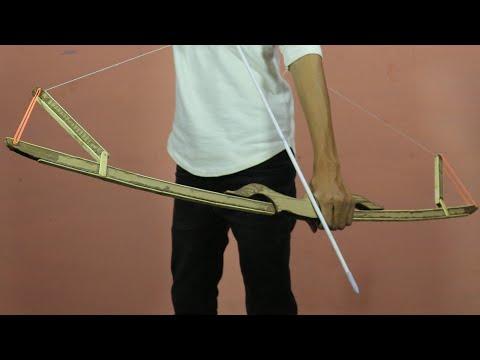 How To Make A Cardboard Bow & Arrow