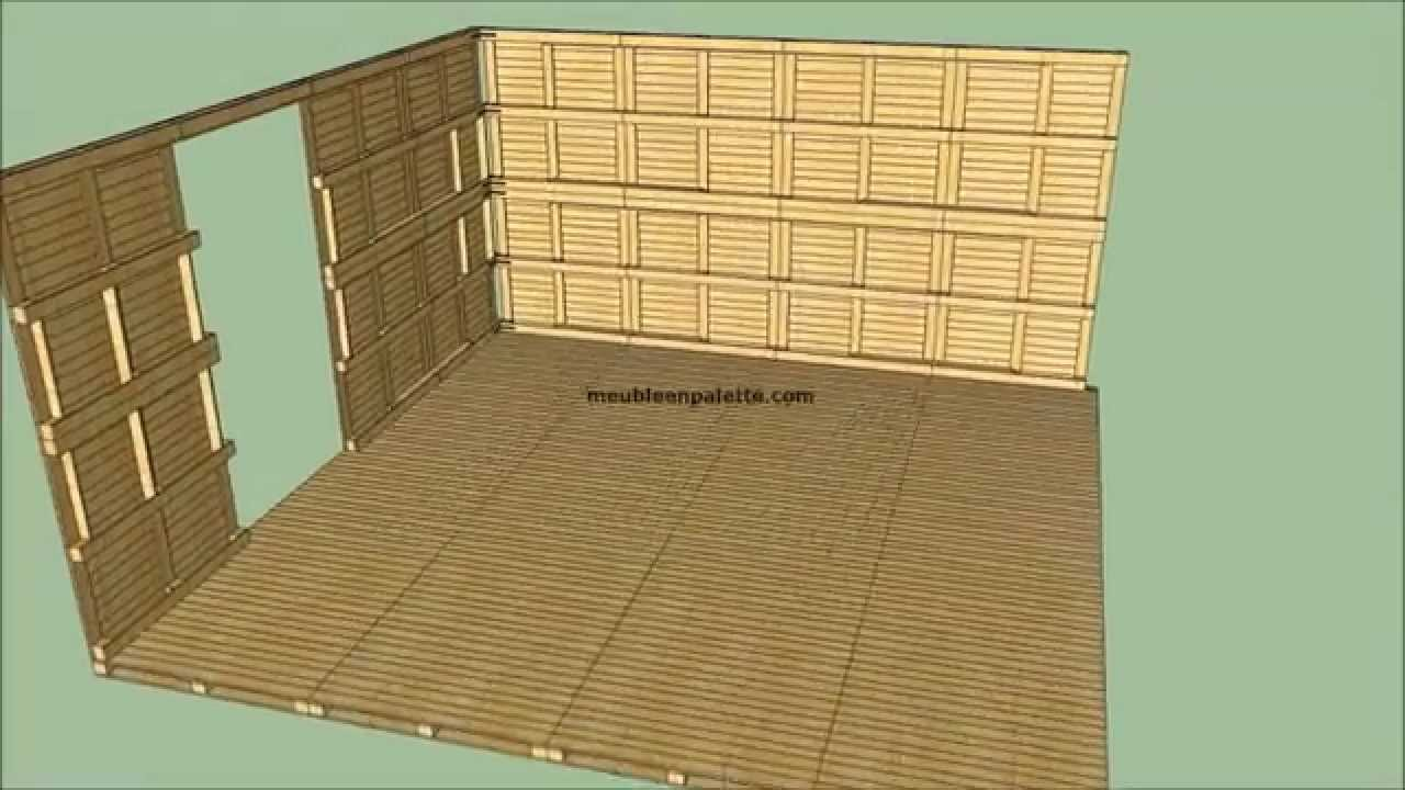 comment construire une cabane en bois youtube. Black Bedroom Furniture Sets. Home Design Ideas