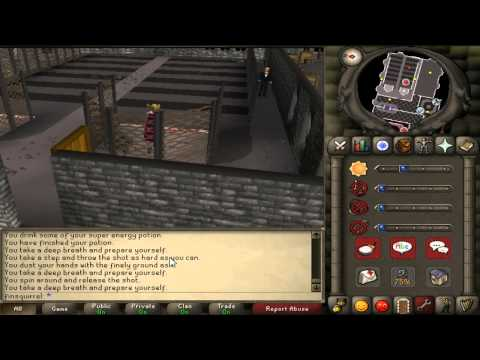Runescape 2007 Mini-games in The Warriors' Guild