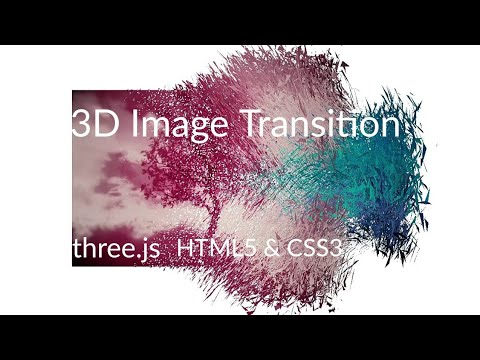 3D Shader Image Transition | HTML 5 | CSS 3 | JavaScript | Scripton | 2018 |