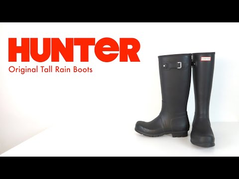 HUNTER BOOTS   Tall Boot   The Boot Guy Reviews