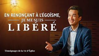 Témoignage chrétien en français 2020 « En renonçant à l'égoïsme, je me suis libéré »