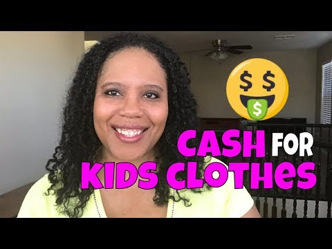 CASH FOR KIDS CLOTHES   KIDS CONSIGNMENT STORE TIPS