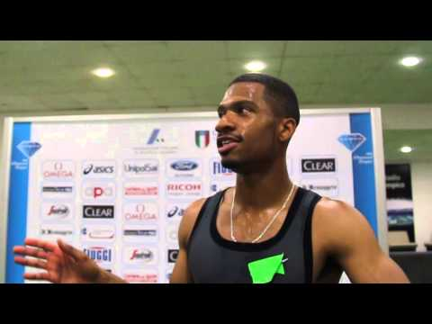 Johnny Dutch boosted by 400mH performance in Rome
