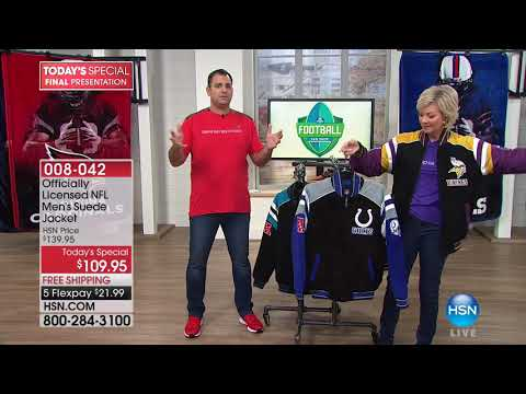 HSN | Football Fan Shop Gifts 10.24.2017 - 10 PM