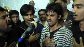 Groh-e-Shaidae Abul Fazl A.S ( Lohe Ki Kaman ) on 9th Safar 2013 at Sankesar Part 2