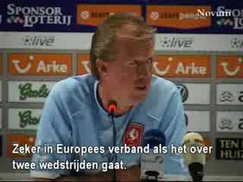 Steve McClaren - dutch accent