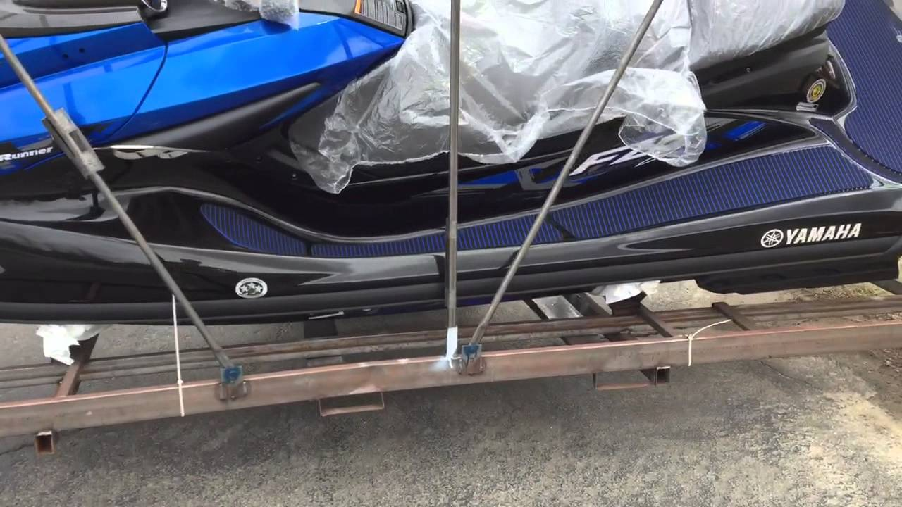 2015 yamaha fzs waverunner crated youtube for Yamaha jet ski dealer