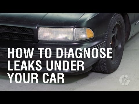 How To Diagnose Leaks Under Your Car   Autoblog Wrenched