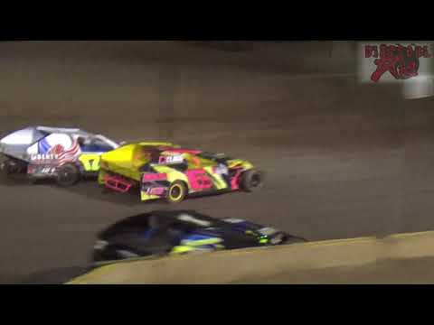 Mid America Clash 5 -Night Two- Salina Speedway 9-30-17 A Modified Heats