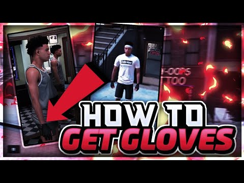 HOW TO GET THE GLOVES IN NBA 2K18!! LOOK LIKE A CHESSER IN THE PARK! MUST WATCH!!