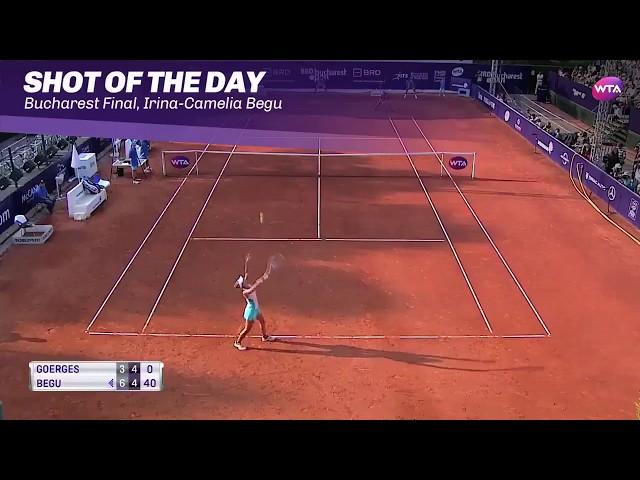 2017 Bucharest Open Final | Shot of the Day | Irina-Camelia Begu