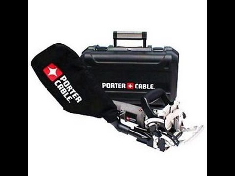 Porter Cable Plate Joiner model 557 tool Review