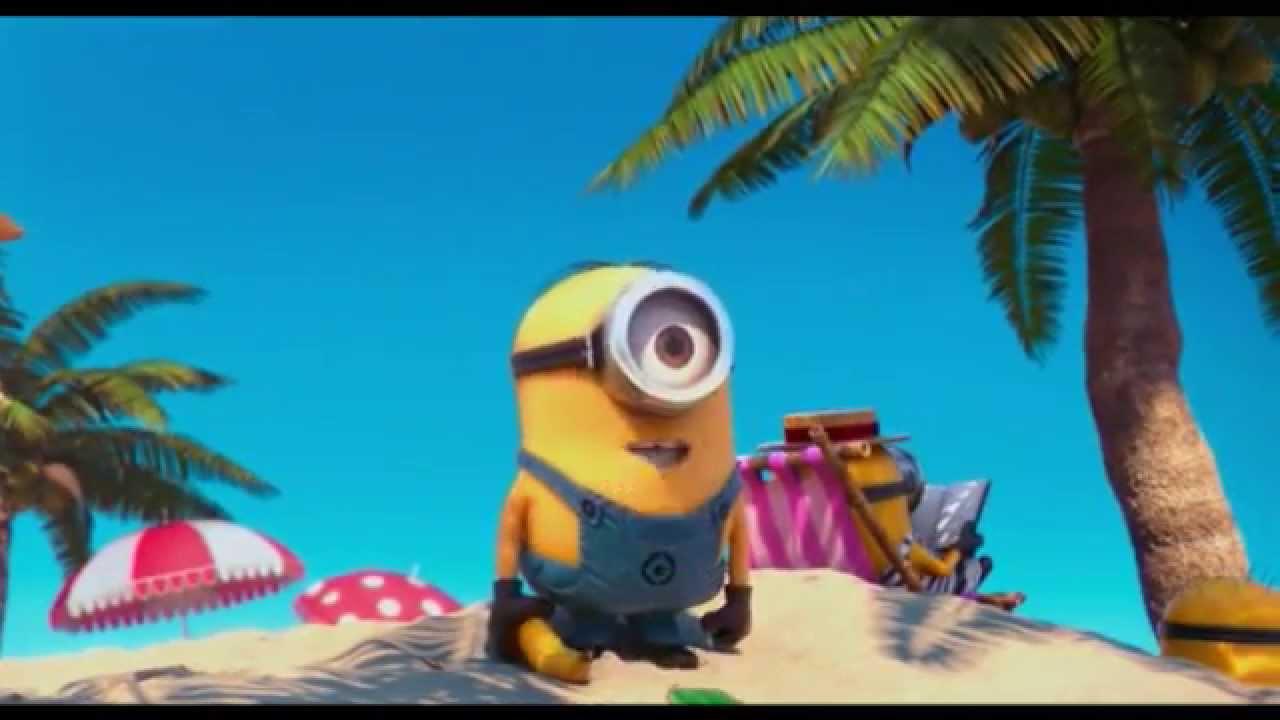 Les vacances des minions youtube - Les minions bonne annee ...