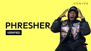 PHresher Wait A Minute Official Lyrics Meaning Verified