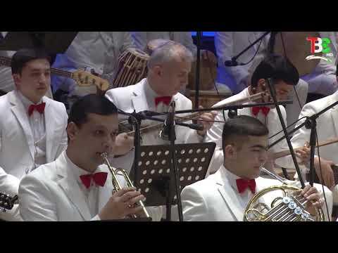 Отчетный концерт симфонического оркестра ИсполнительногоАппарата Президента Республики Таджикистан