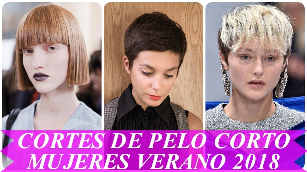 tendencias cortes de pelo corto mujeres verano
