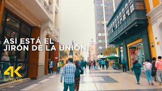 Jirón de la Unión Lima Perú 2021 (4k ultra HD, 60fps)