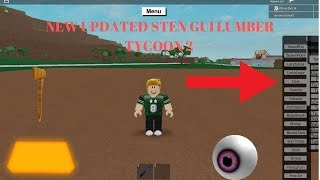 UPDATED STEN GUI LUMBER TYCOON 2 ROBLOX (NEW UPDATED)
