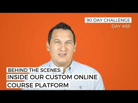 Behind the Scenes: Inside our custom online course platform