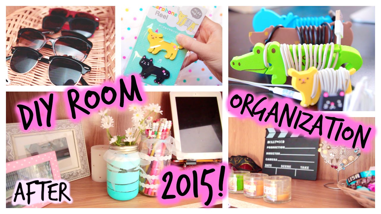 DIY Room Organization Storage Ideas