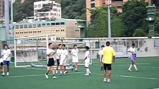 聖士堤反書院足球隊 友賽 基督教宣道會宣基中學