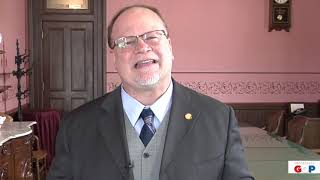 Sen. Runestad discusses the passage of his mail theft legislation