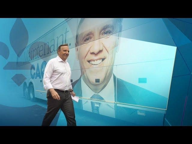 24 h dans les coulisses de la campagne de François Legault #1