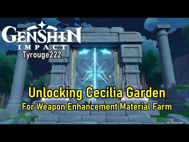 Genshin Impact Guide How To Unlock Cecilia Garden In Genshin Impact