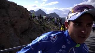 Tour de France, 18e étape - L'arrivée à la voiture FDJ avec Molard, Le Gac et Cimolai